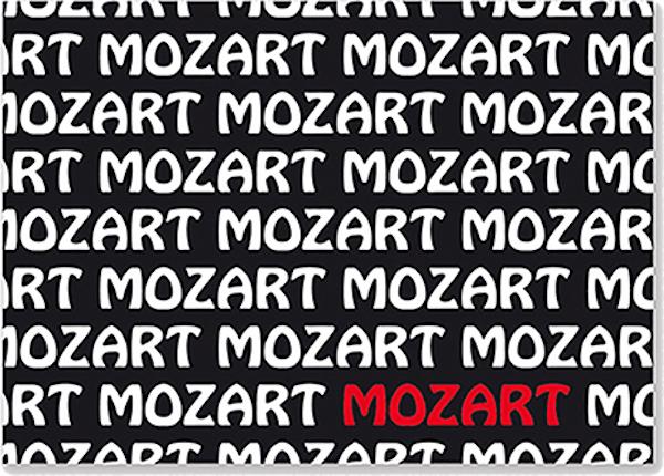 Postkarte Mozart Text
