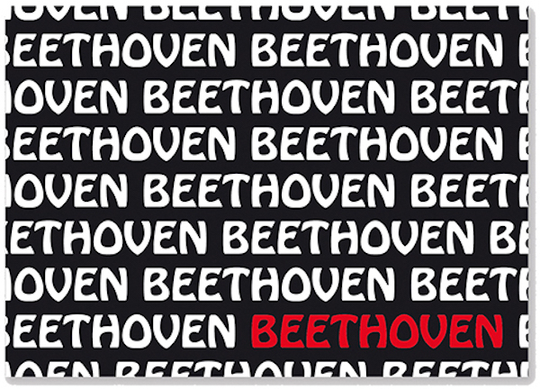 Postkarte Beethoven Text