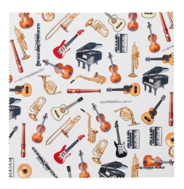 Brillenputztuch Instrumente