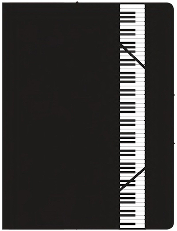 File with elastic band Keyboard