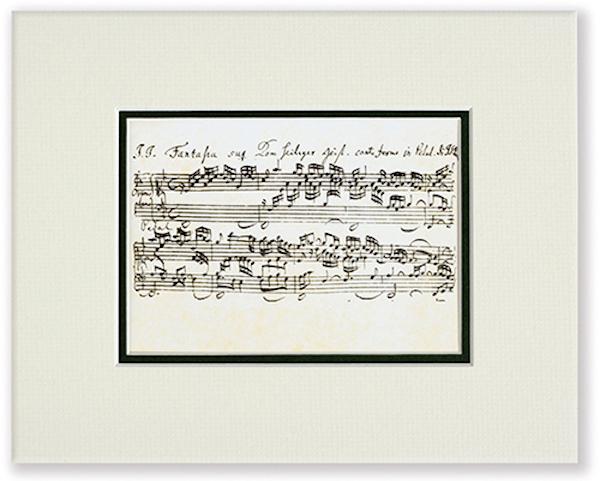 Passepartout Bach Noten