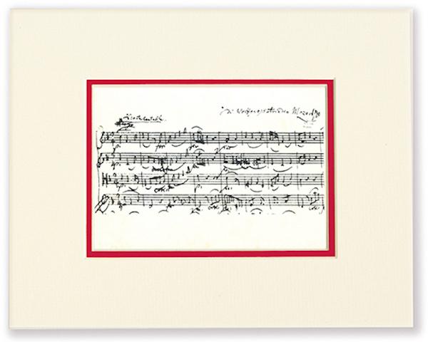 Passepartout Mozart Noten