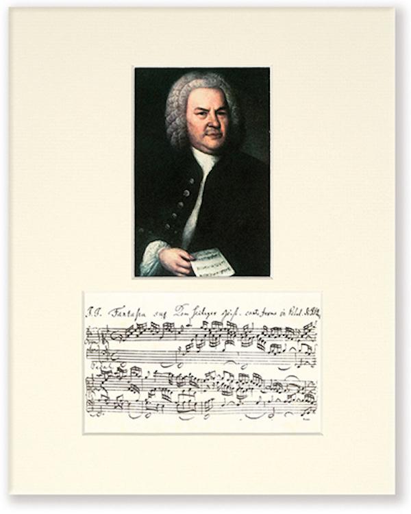 Passepartout Bach Portrait