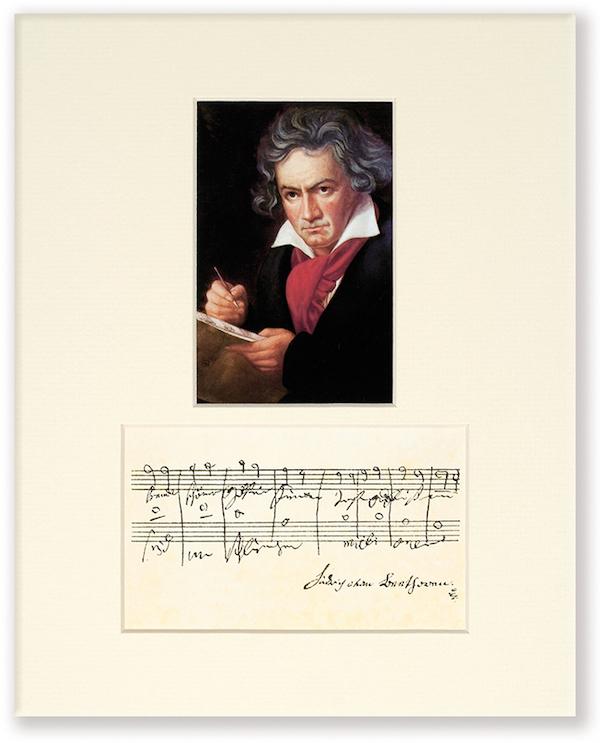Passepartout Beethoven Portrait