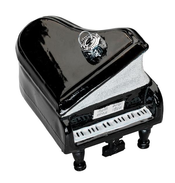 Christbaumanhänger Klavier