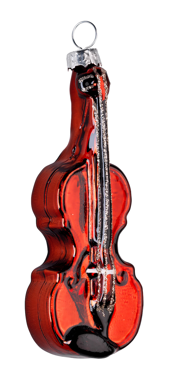 Christbaumanhänger Geige