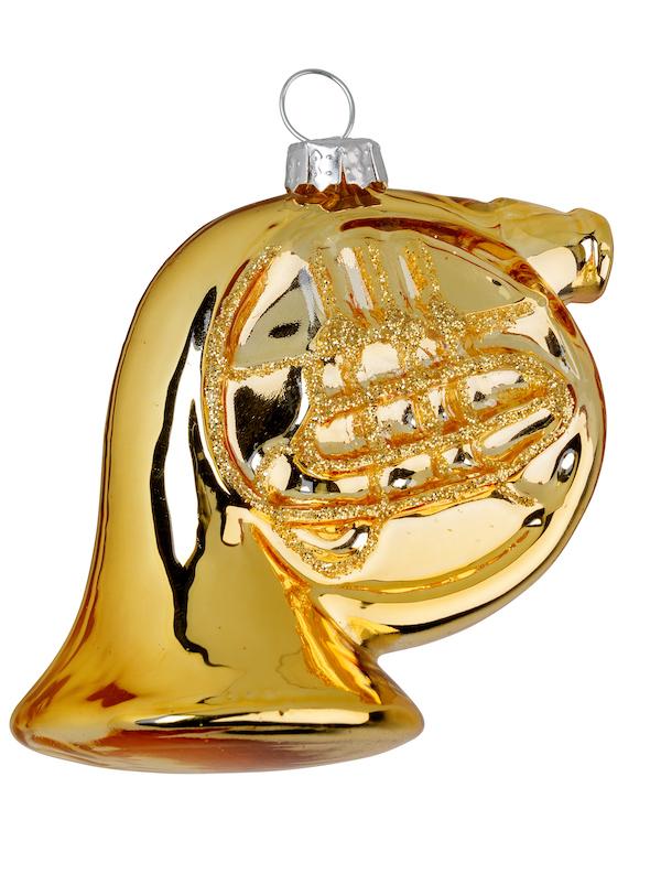 Christbaumanhänger Horn