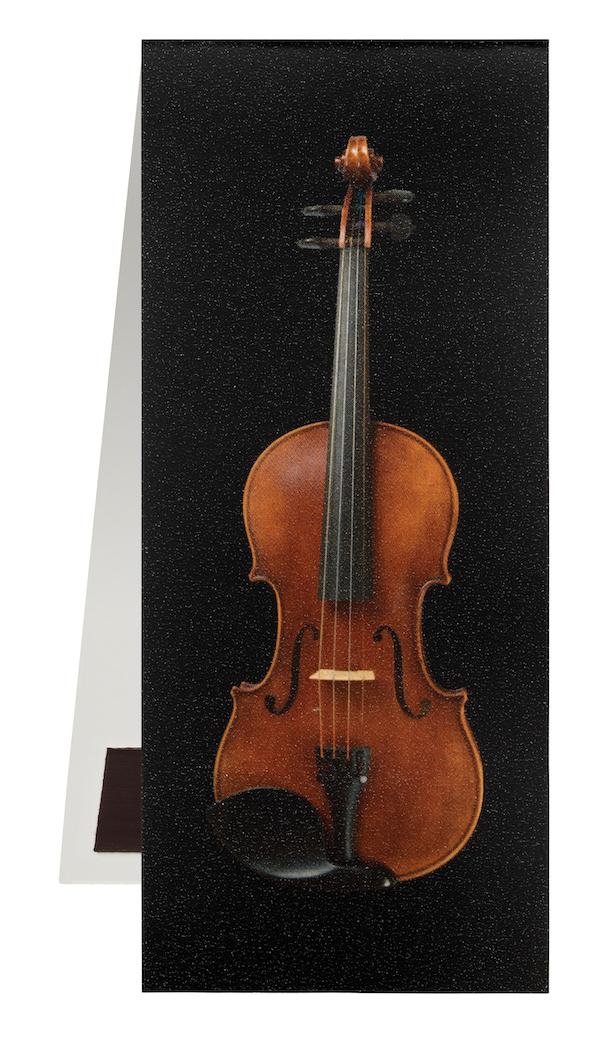 Lesezeichen Geige schwarz magnetisch