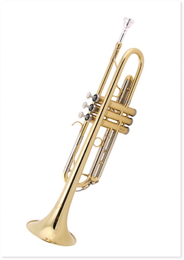 Postcard Trumpet
