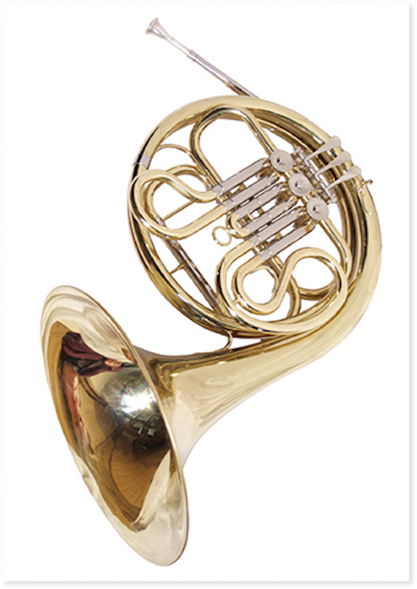 Postcard Horn