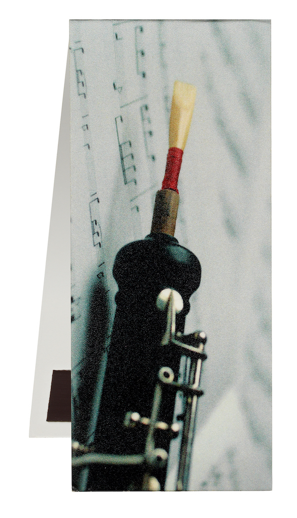 Bookmark Oboe/Sheet music magnetic