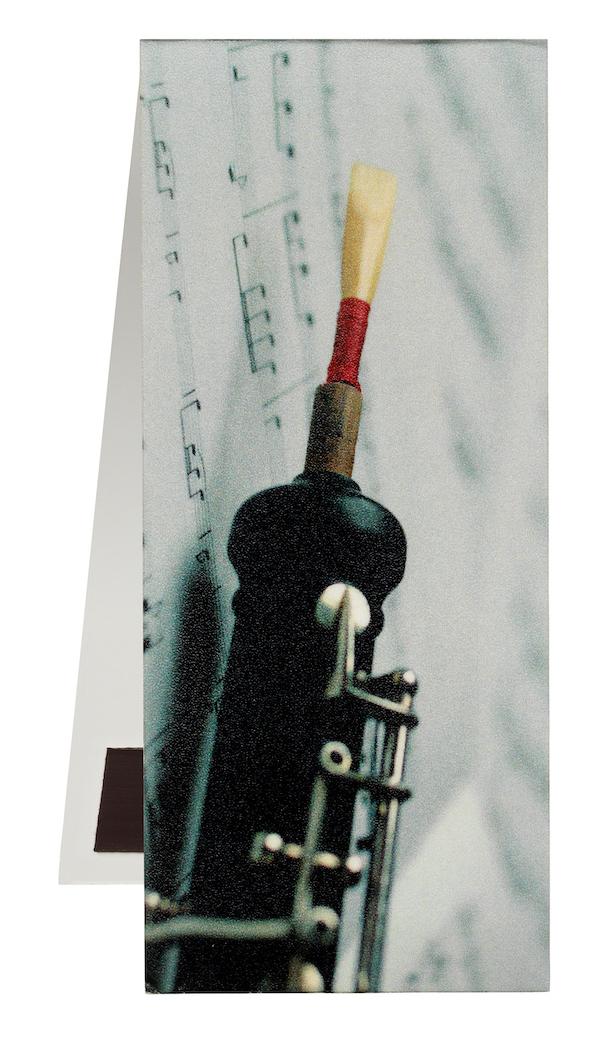 Lesezeichen Oboe/Notenblatt magnetisch