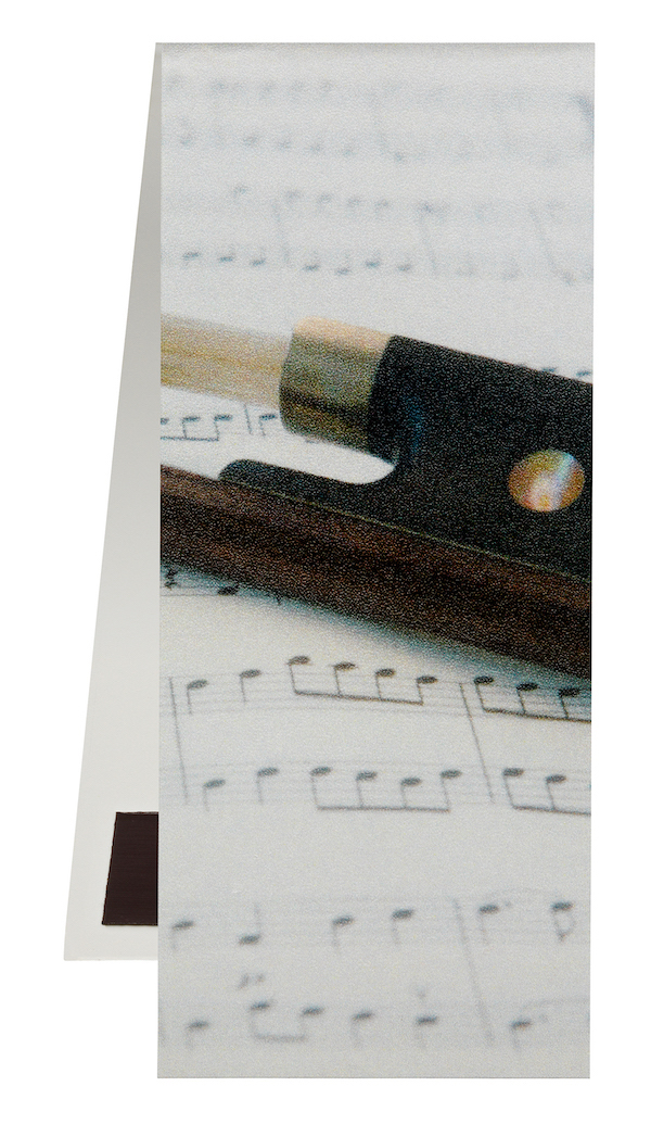 Bookmark Bow/Sheet music magnetic