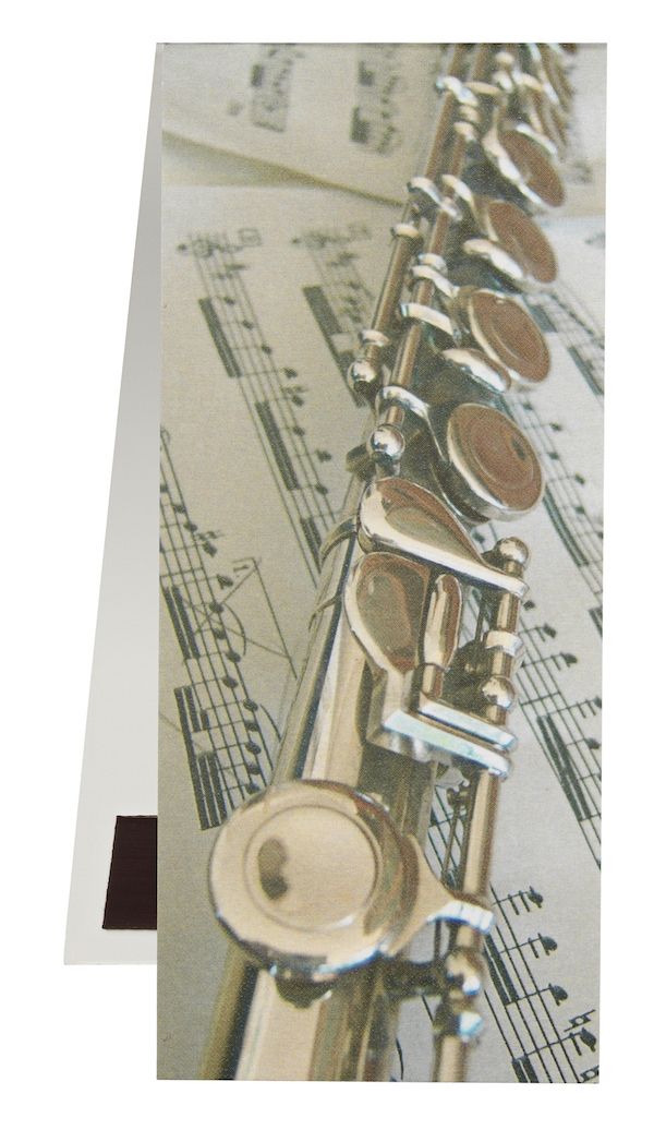 Bookmark Flute/Sheet music magnetic