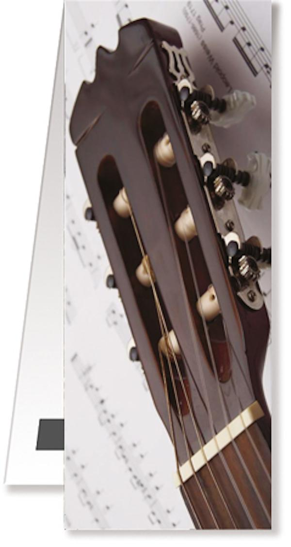 Lesezeichen Gitarre/Notenblatt magnetisch