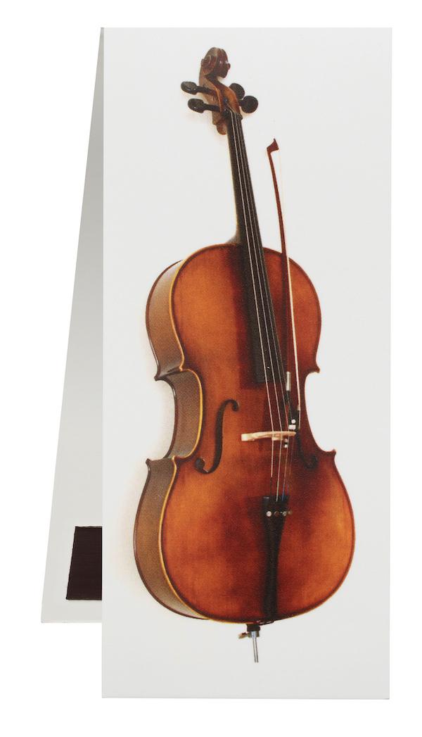 Lesezeichen Cello magnetisch