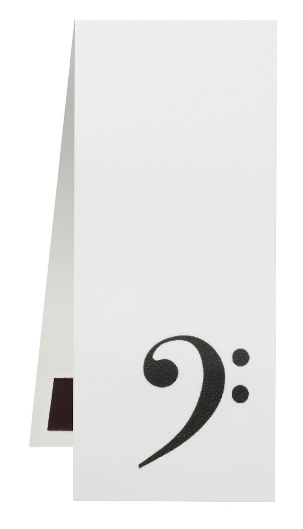 Bookmark Bass-clef magnetic