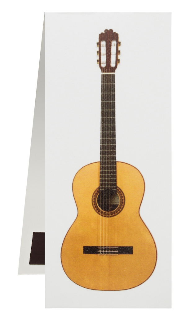 Lesezeichen Gitarre magnetisch