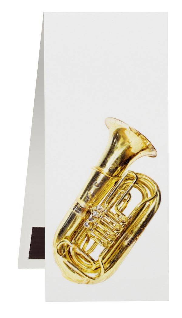 Lesezeichen Tuba magnetisch