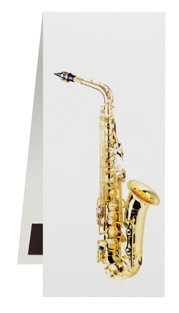 Lesezeichen Saxophon magnetisch