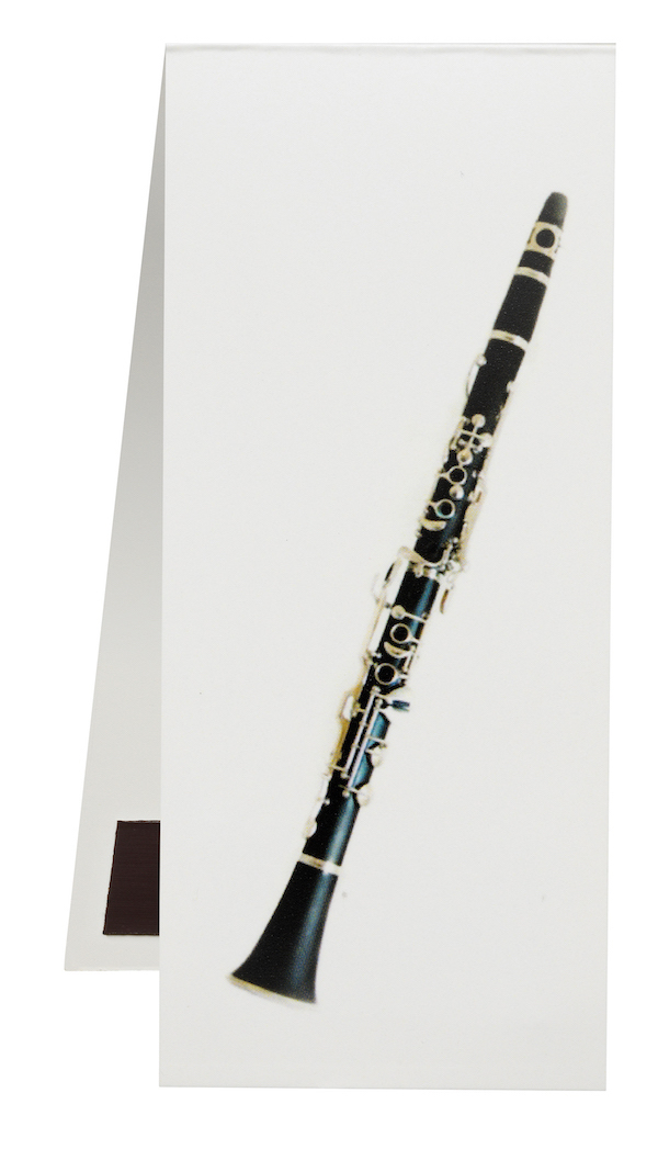Lesezeichen Klarinette magnetisch