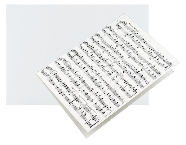Grusskarte Strauss A6