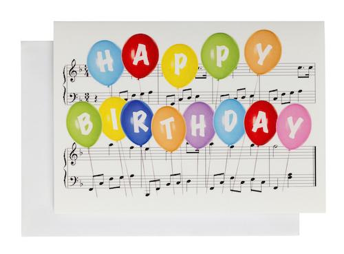 Grusskarte Happy Birthday A6