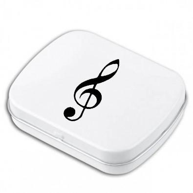 Pfefferminzbox Violinschlüssel