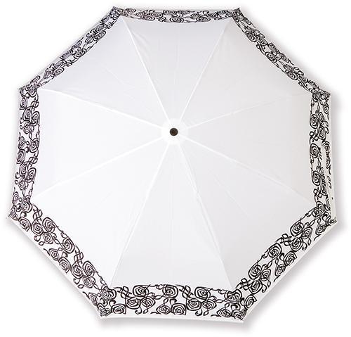 Mini umbrella Finlandia white