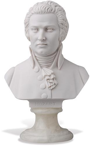 Büste Mozart 16cm