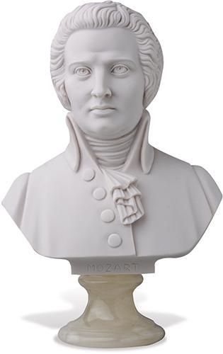 Büste Mozart 23cm
