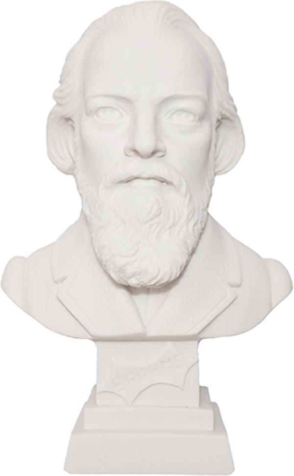 Büste Brahms 11cm