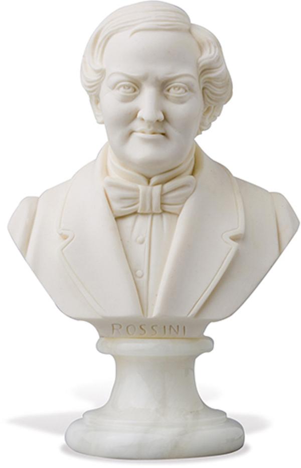 Büste Rossini 11cm
