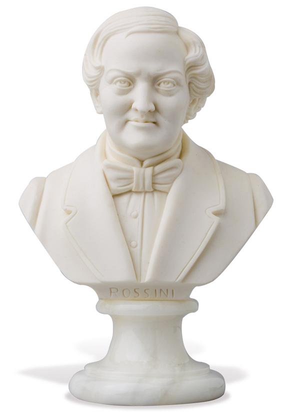 Büste Rossini 16cm