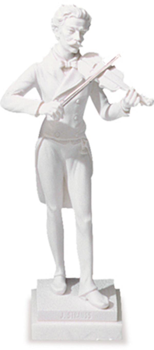 Standfigur Strauss 27cm