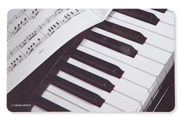 Schneidbrett Klavier/Notenblatt