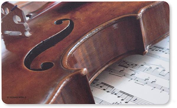 Schneidbrett Geige/Notenblatt