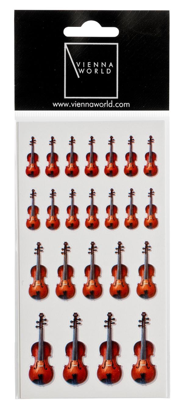 Sticker Geige (2 Blatt)