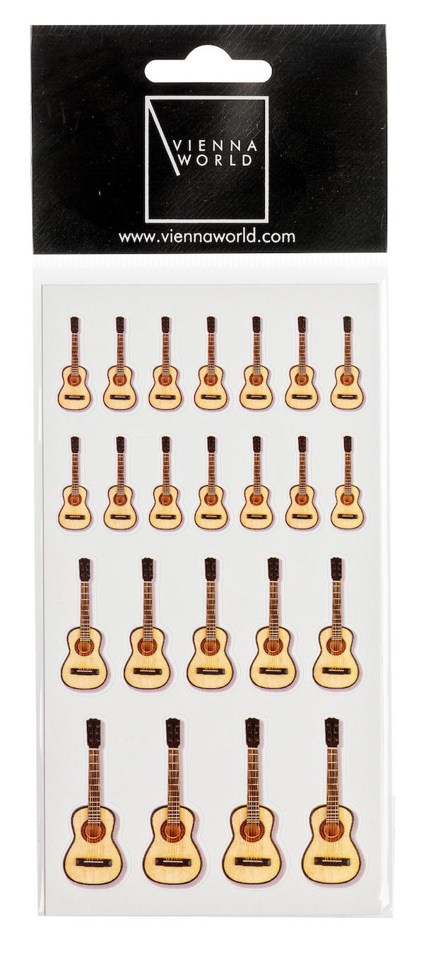Sticker Gitarre (2 Blatt)
