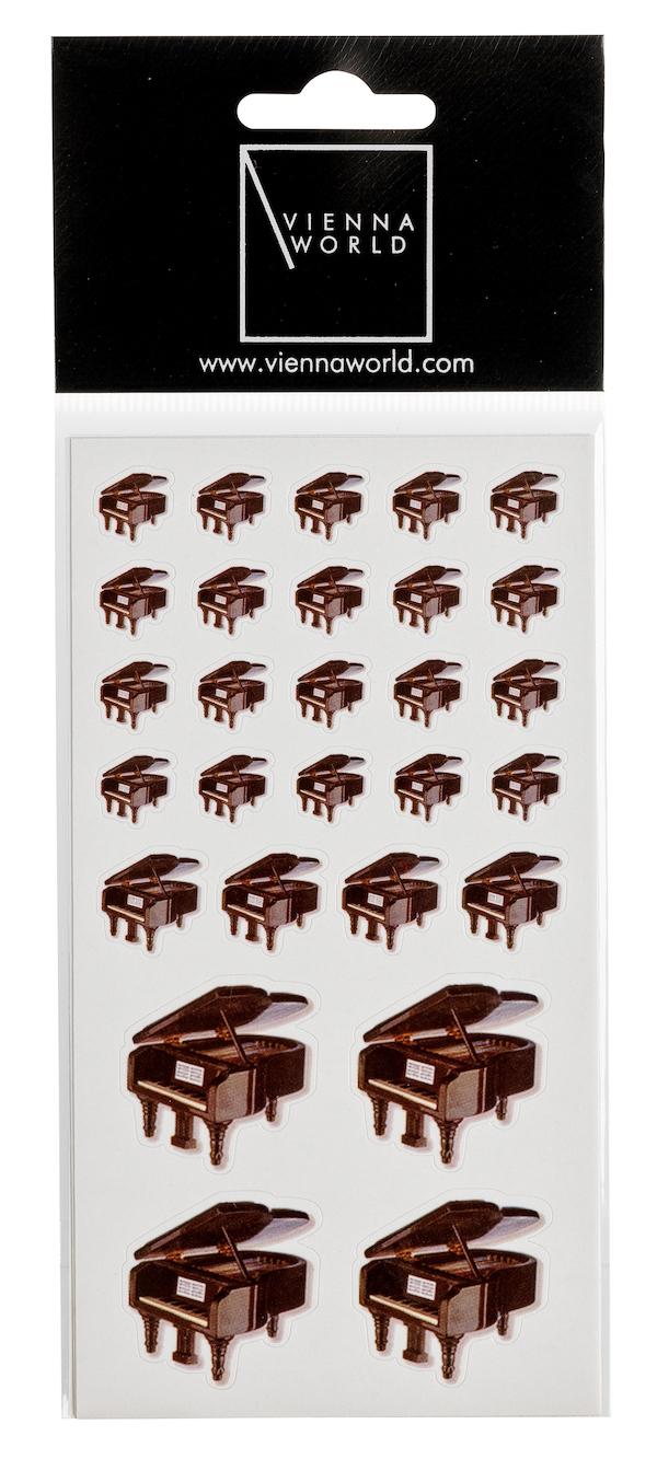 Sticker Klavier (2 Blatt)