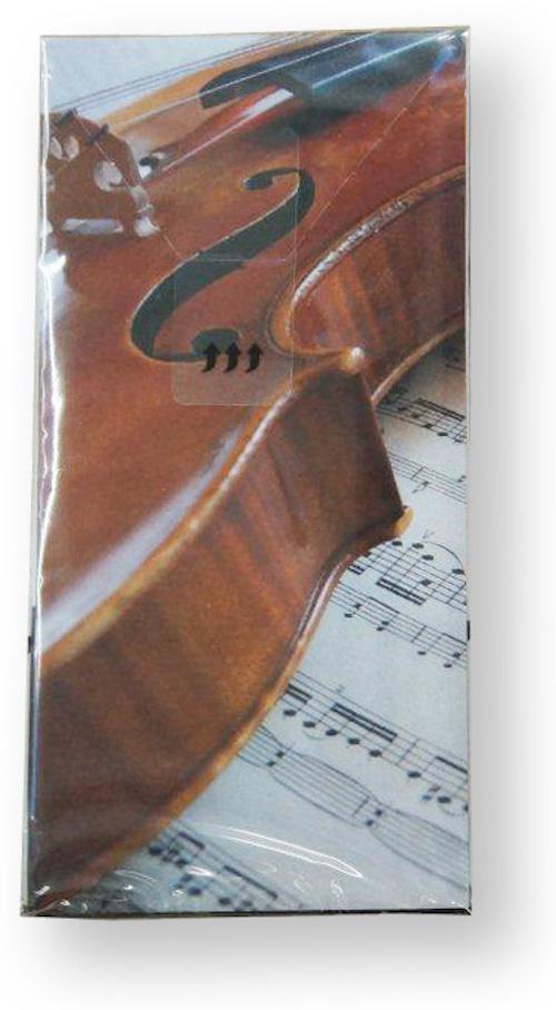Papiertaschentücher Geige/Notenblatt