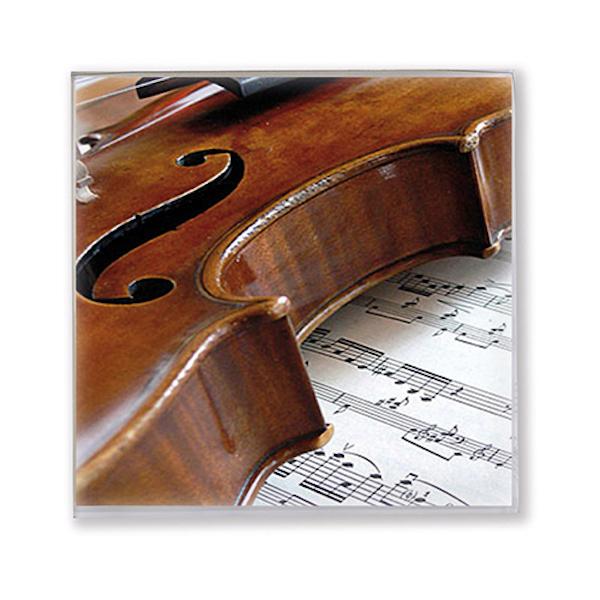 Servietten Geige/Notenblatt 25x25cm