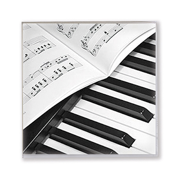 Servietten Klavier/Notenblatt 25x25cm