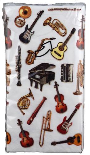Papiertaschentücher Instrumente