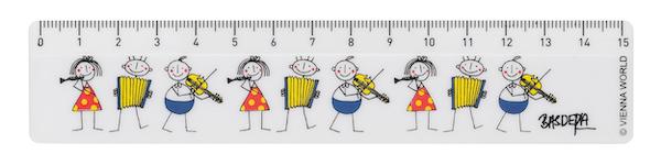 Lineal Little Phils 15cm