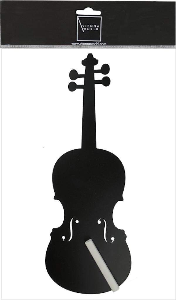 Kreidetafel Geige magnetisch