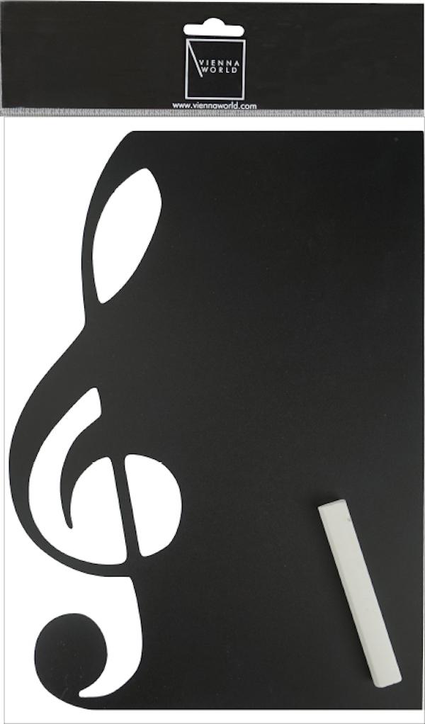 Kreidetafel Violinschlüssel magnetisch