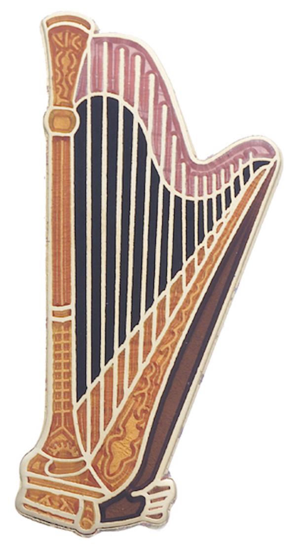 Pin Harfe