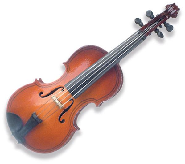 Miniaturpin Geige