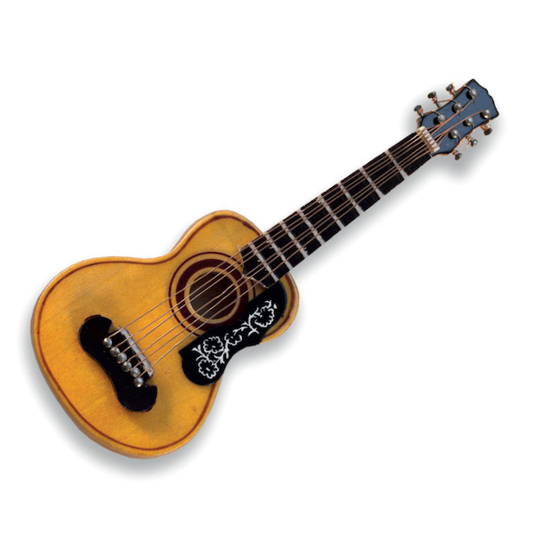 Miniaturpin Spanische Gitarre